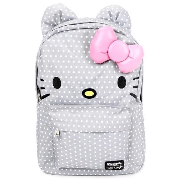 ee26276e3f Last Chance Hello Kitty Dots Backpack